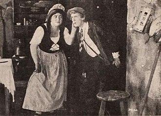 Milla Davenport - Milla Davenport and Thomas Jefferson in Rip Van Winkle (1921)