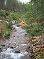 River at Lemmenjoki national park, Finland IMG 0330.JPG