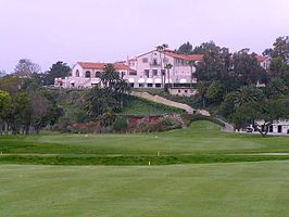 Golfbaan van de Riviera Country Club