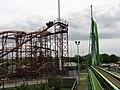 Road Runner Express and Greezed Lightnin at Six Flags Kentucky Kingdom.jpg