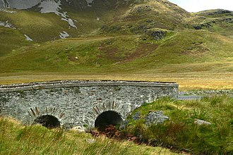 Falcarragh - The Bridge of Tears (Droichead na nDeor in Irish) in West Donegal, Ireland, near Falcarragh. Family and friends of emigrants would accompany them as far as the bridge before saying goodbye, while the emigrants would continue on to Derry Port.