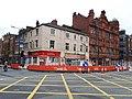 Roadworks on Westgate, Leeds (geograph 6657983).jpg