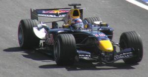 Robert Doornbos - Doornbos driving for Red Bull Racing at the 2006 Brazilian Grand Prix.