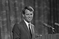 Robert F. Kennedy appearing before Platform Committee, August 19, 1964.jpg