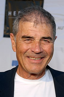 Photo of a smiling Robert Forster