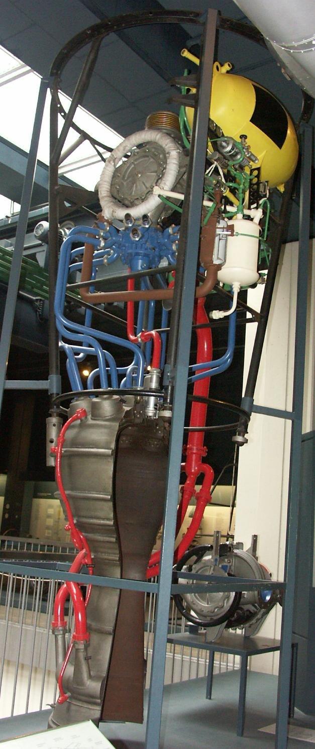 Rocket engine A4 V2