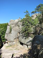 Rocks of Dovbush1-Ukraine-2011.JPG