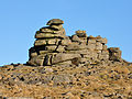 Rocks on Great Staple Tor Jan 2011.jpg