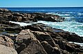 Rocky shore & waves (next to Thunder Hole, Mt. Desert Island, Maine, USA) 25.jpg