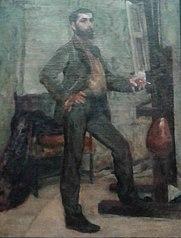 Retrato do pintor Décio Vilares