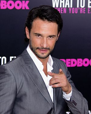 Rodrigo Santoro - Santoro at the premiere of What to Expect When You're Expecting, 9 May 2012, New York