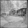 Rohwer Relocation Center, McGehee, Arkansas. Barrack scene at Rohwer Relocation Center. - NARA - 538199.tif