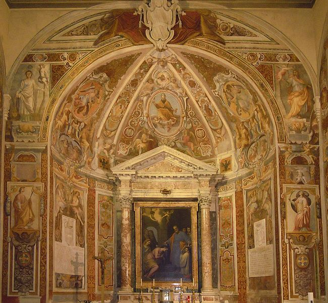 File:Roma, chiesa di Santa Prisca - Abside.jpg