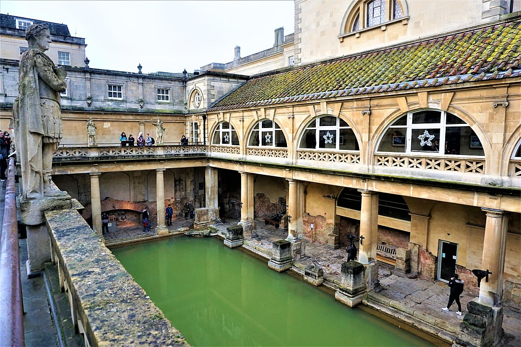 Roman Bath House - Roman Baths (Bath)