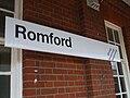 Romford station signage.JPG