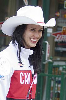 Rosalind Groenewoud Canadian freestyle skier