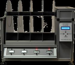 A rat rotarod apparatus