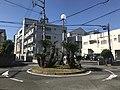 Rotary near Kashiihama Crossroads 2.jpg