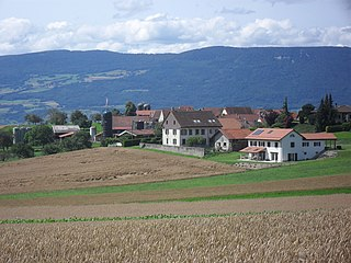 Rovray Place in Vaud, Switzerland