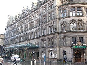 Robert Rowand Anderson - The Central Hotel at Glasgow Central station