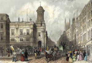 Cornhill, London - Image: Royal Exchange and Cornhill