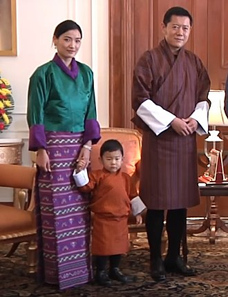House of Wangchuck - Image: Royal Family of Bhutan 2017 (cropped)