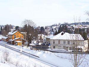 Røyken Municipality - Image: Royken st 1