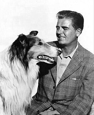 Rudd Weatherwax - Weatherwax and Lassie, 1955.
