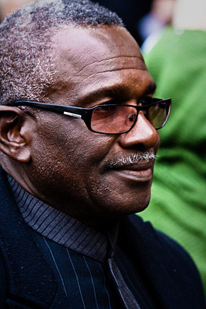 Rudolph Walker - Walker at the funeral of Wendy Richard (2009).