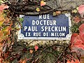 Rue Docteur-Paul-Specklin (Belley), novembre 2019, panneau de rue.jpg