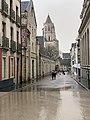 Rue Docteur Maret à Dijon sous la pluie en février 2021.jpg
