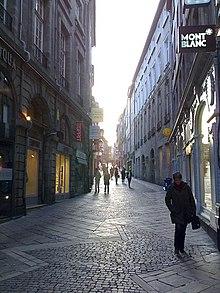Rue du consulat limoges wikip dia for Garage limoges centre ville