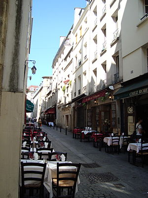 Down and Out in Paris and London - Image: Rue du Pot de Fer