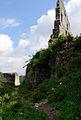 Ruine Hohen Urach; Kleiner Zwinger. Links die Reste eine Ringmauerturms (7575073782).jpg