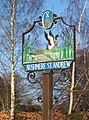 Rushmere St Andrew village sign - geograph.org.uk - 691358.jpg