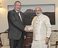 Russian Deputy PM Dmitry Rogozin meets PM Modi.jpg