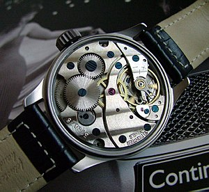 Mechanical watch - The movement of a Russian watch