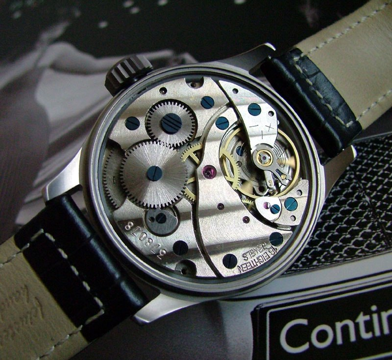 Russian finished watch movement