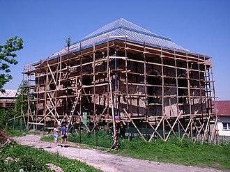 Rymanów - Image: Rymanów Synagoga 2