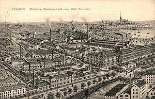 Sächsische Maschinenfabrik German manufacturing company in Chemnitz