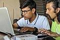 S.M.Tanim & Moheen Reeyad, Wikicamp Chattogram, 2019.04.20 (01).jpg