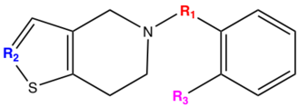 Adenosine diphosphate receptor inhibitor - Figure 2: SAR, group R1, R2 and R3