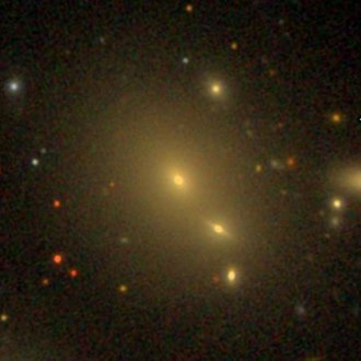 NGC 6041 - Sloan Digital Sky Survey image of the giant elliptical galaxy NGC 6041.