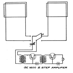 Ambrose Channel pilot cable - Image: SE 1600 amplifier ckt