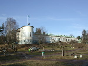 Stockholm International Peace Research Institute - SIPRI's headquarters in Solna outside Stockholm.