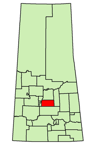 Humboldt (provincial electoral district) - Image: SK Electoral District Humboldt