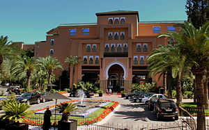 马拉喀什: SOFITEL HOTEL MARRAKECH MOROCCO APRIL 2013 (8709735037)