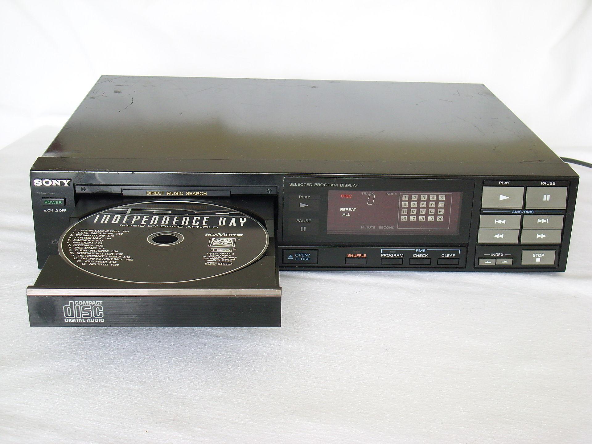 Riproduttore di cd audio wikipedia - Lettore mp3 da tavolo ...