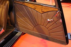 SS Cars Ltd - door interior
