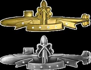 USS Tunny (SS-282) - Image: SSBN Deterrent Patrol Badges